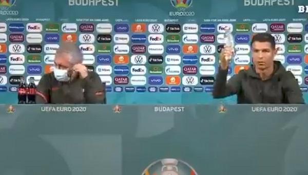 रोनाल्डो ने दिया संदेश, कोच सिर खुजाते रह गए-