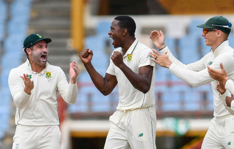WI vs SA: Keshav Maharaj Hat-trick, Quinton de Kock batting- South Africa beats West Indies by 2-0 in Test