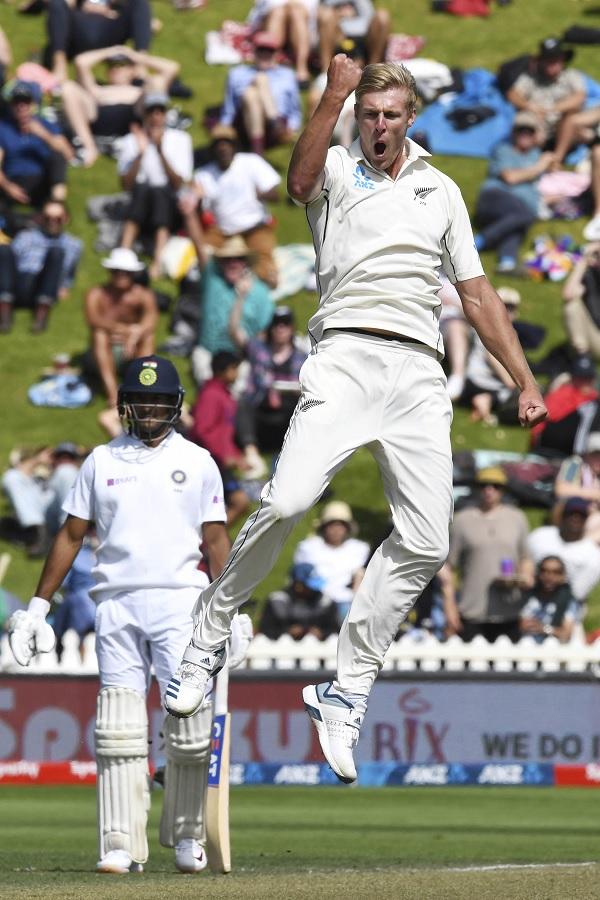 टेस्ट मैचों में अगले बड़े कीवी के रूप में देखे जा रहे हैं जैमीसन-