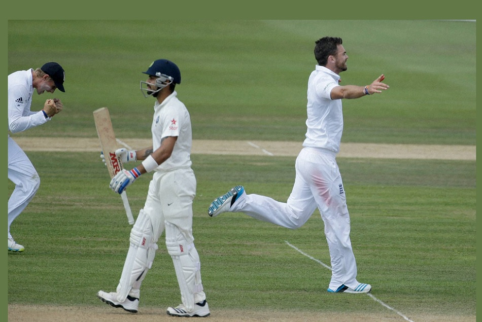 Virat Kohli will always be afraid of Anderson not Johnson, Here is Virats records on Irfan Pathan claim