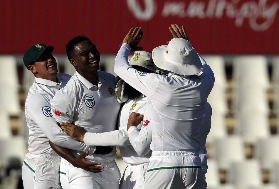 West Indies all out only on 97 runs in first inning, Lungi Ngidi picks 5 wickets