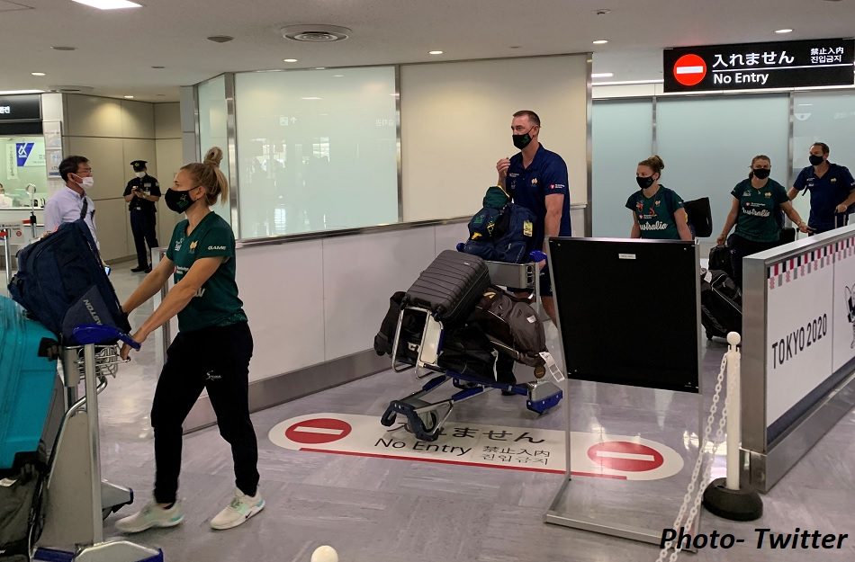 जापान में पहुंचा खिलाड़ियों का पहला दल, ऑस्ट्रेलियाई सॉप्टबॉल टीम की ओलंपिक के लिए एंट्री