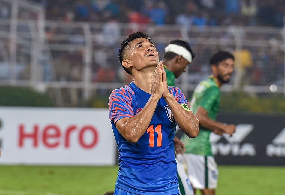 After breaking Lionel Messi record Sunil Chhetri says he does not count goals