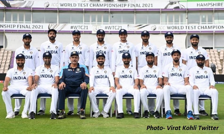 Virat Kohli shares whole squad picture ahead of WTC Final at Ageas Bowl