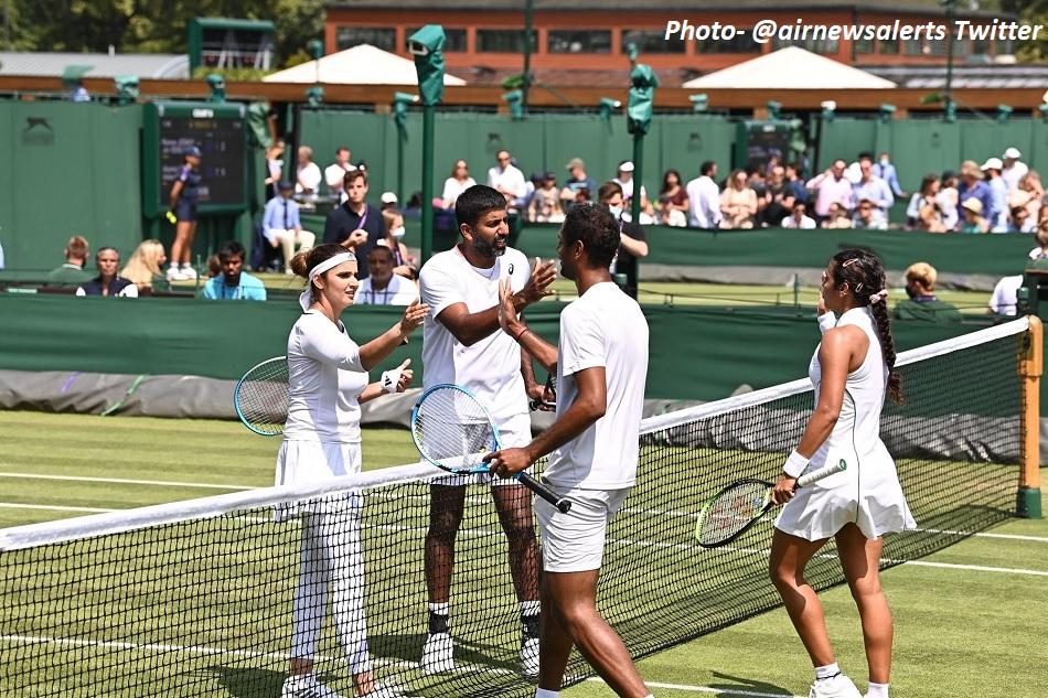 Wimbledon 2021: Sania Mirza- Rohan Bopanna wins historic all-Indian mixed doubles first round