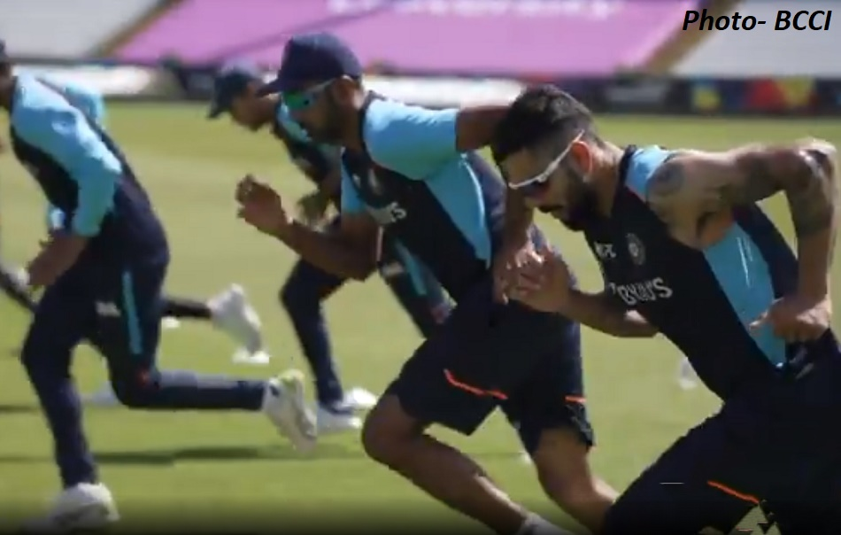 India in England 2021: Team Indias first practice session video in Durham