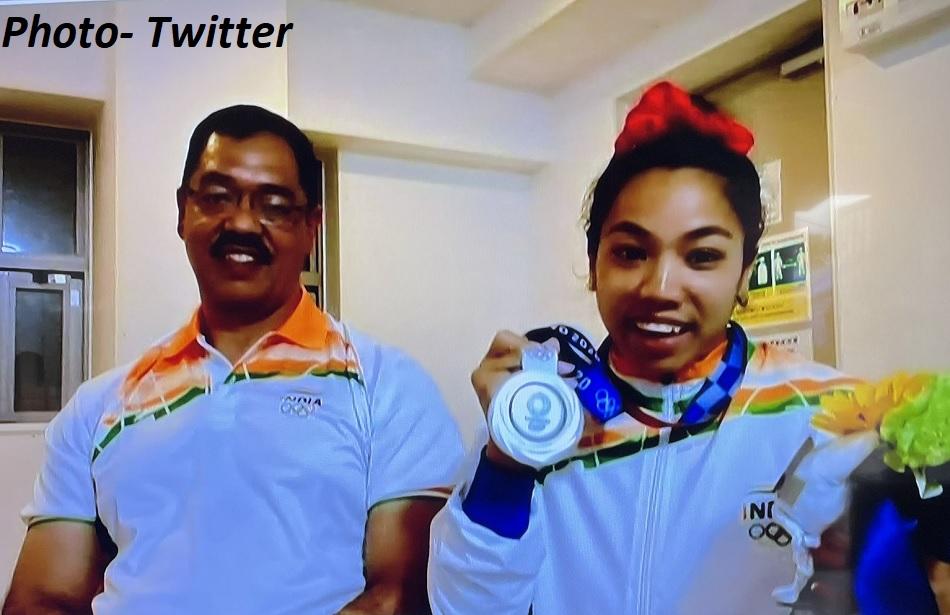 Tokyo 2020: IOC made a big announcement of Mirabai Chanus victory, coach will get cash in reward