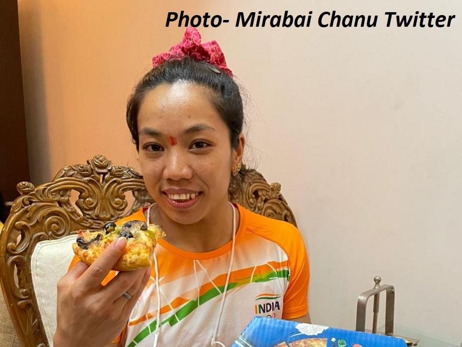 मीराबाई चानू को मिला फ्री पिज्जा, वायदा निभाने के लिए कंपनी को बोला- थैंक्यू