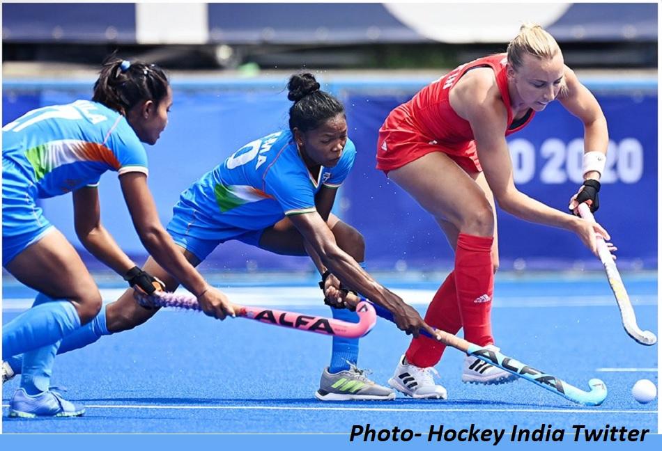 Tokyo Olympics: भारतीय महिला हॉकी टीम की लगातार तीसरी हार, ग्रेट ब्रिटेन ने 4-1 से हराया