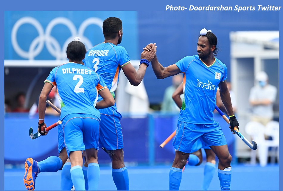 Tokyo Olympics: Indias spectacular victory in mens hockey, defeating Argentina to enter quarterfinals