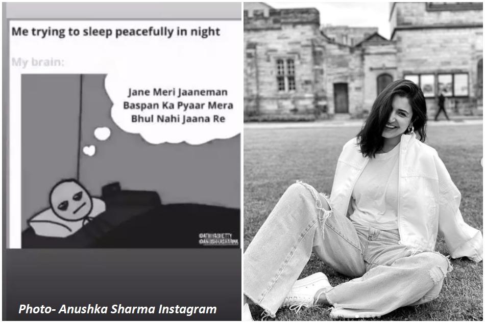 Anushka Sharma also got the craze of Bachpan Ka Pyaar, reaction on Ishants wifes meme