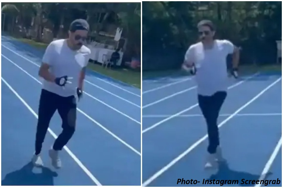 Tokyo 2020: Anil Kapoor races on the track to cheer for India in Olympics - WATCH