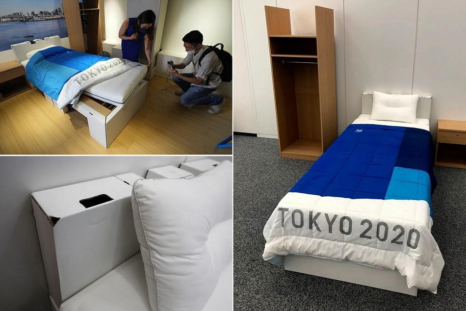 Tokyo Olympics : एंटी-सेक्स बेड ने बटोरी सुर्खियां, दो लोग ऊपर चढ़े तो टूट जाएगा