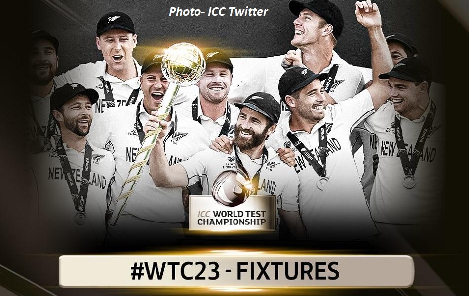ICC ने की वर्ल्ड टेस्ट चैम्पयिनशिप 2021-23 के शेड्यूल की घोषणा, जानिए भारत के मुकाबले