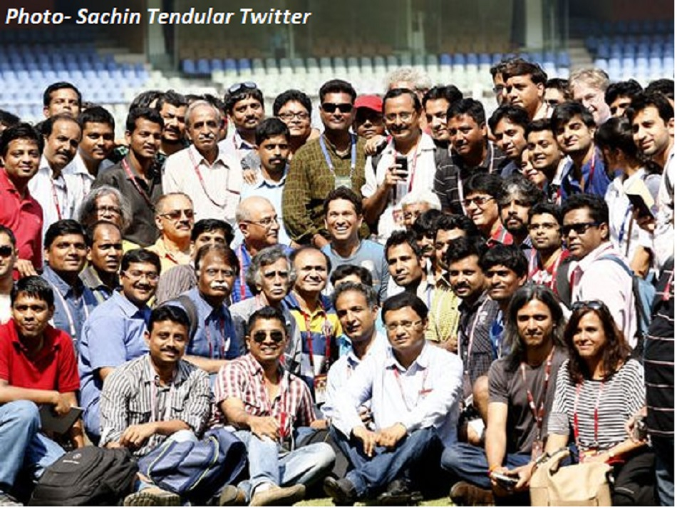 World Sports Journalists Day 2021: Sachin Tendulkar thanked the journalists for their support