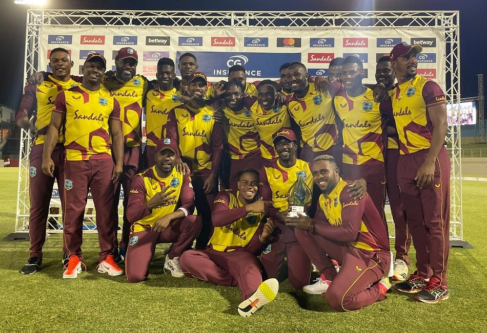 WI vs AUS, T20I: Evin Lewis explosive batting helps West Indies to 4-1 series win against Australia
