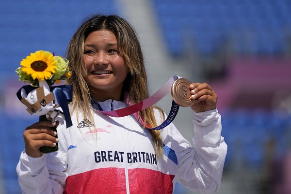ब्रिटेन की ओर में ओलंपिक मेडल वाली सबसे कम उम्र की लड़की-