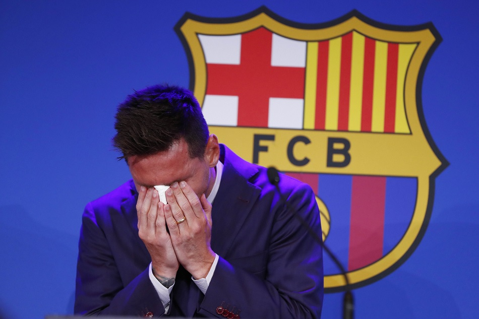लियोन मेसी ने आंसुओं के साथ बार्सिलोना को दी विदाई, बताया अब कहां जाने की है संभावना