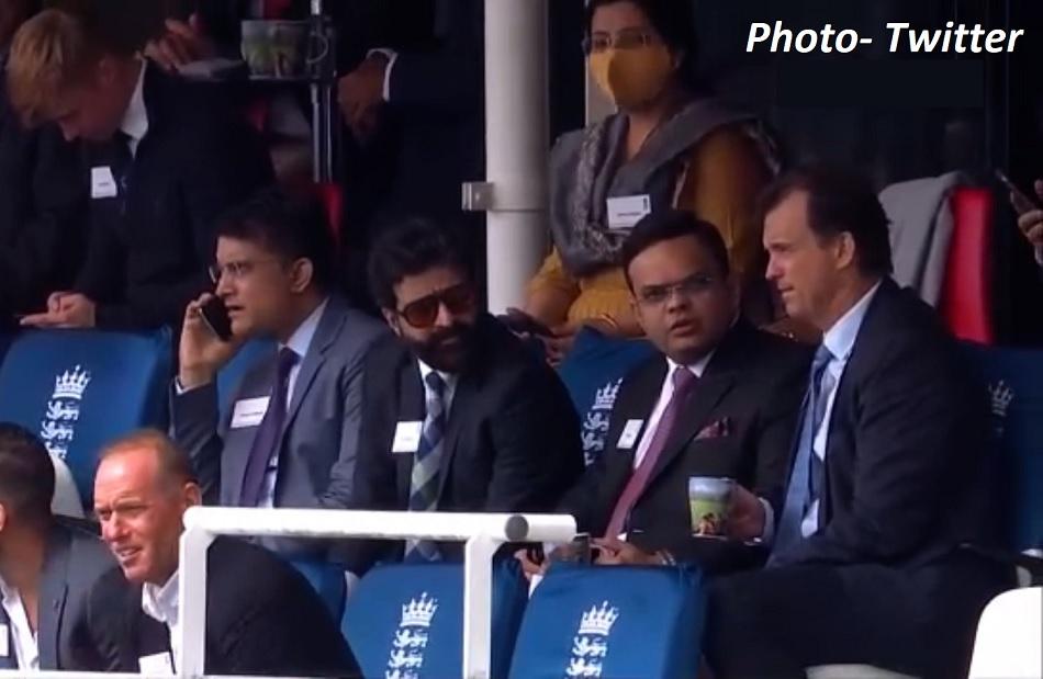 IND vs ENG: दूसरे टेस्ट के दौरान लॉर्ड्स में दिखी सौरव गांगुली, जय शाह की मौजूदगी