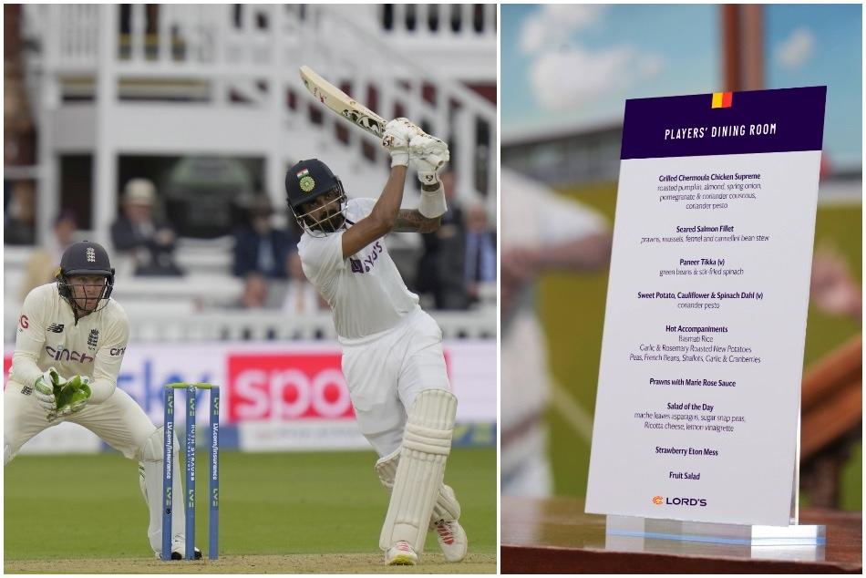 लॉर्ड्स क्रिकेट ग्राउंड ने पहले दिन टीम इंडिया के लिए लंच में ऑफर किया ये सब