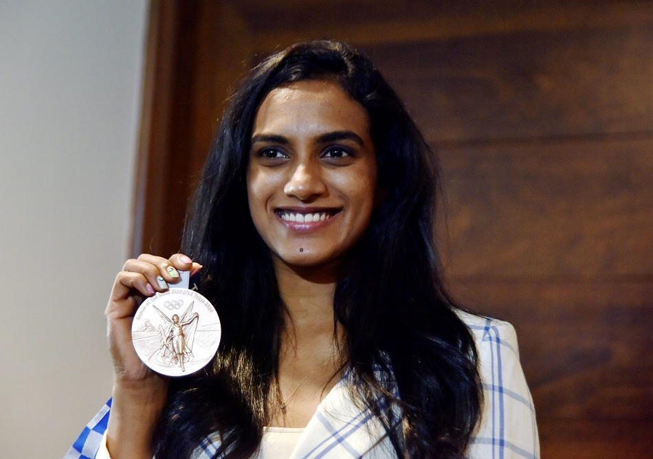 PV Sindhu feels she is lucky because her parents are sportsperson