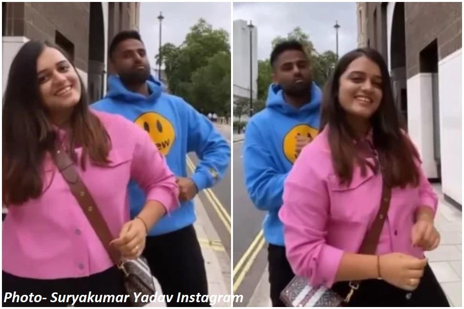 लंदन की गलियों में पत्नी के साथ सूर्यकुमार ने किया डांस, 65 दिनों बाद हुई दोनों की मुलाकात