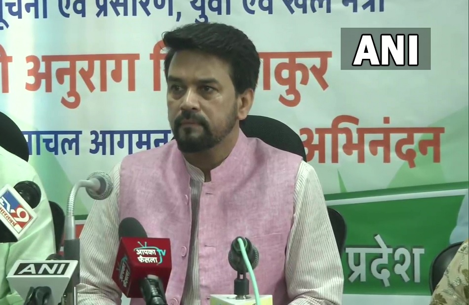 Sports Minister Anurag Thakur said, the culture of sports in the country is going to move ahead