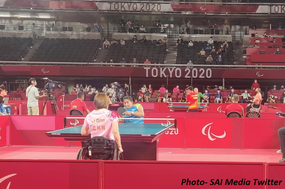 Tokyo Paralympics: Sonal Patel gave a tremendous fight to the Chinese player, before losing the game