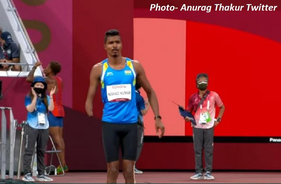 Tokyo Paralympics 2020: Nishad Kumar won silver in high jump, breaks Asian record