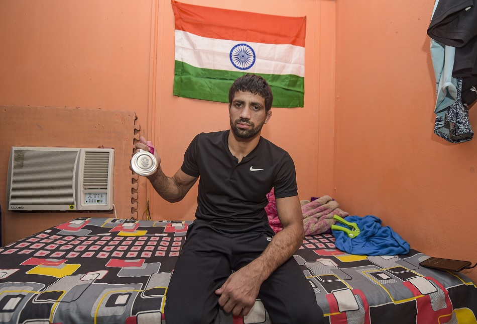 Ravi Dahiya told why did not complain about bite of the opposition wrestler in semifinal match