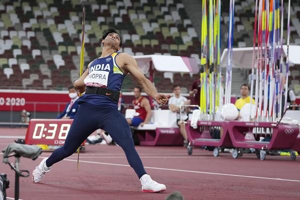 2021 ओलंपिक में नीरज चोपड़ा का एथलेटिक्स में गोल्ड मेडल-