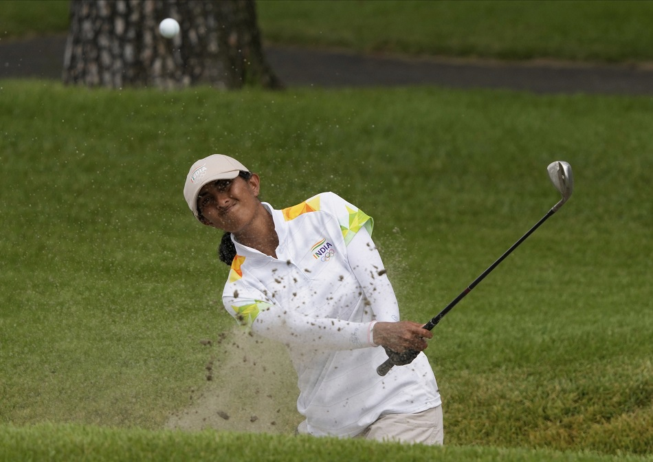 Golfer Aditi Ashok reached so close to the medal