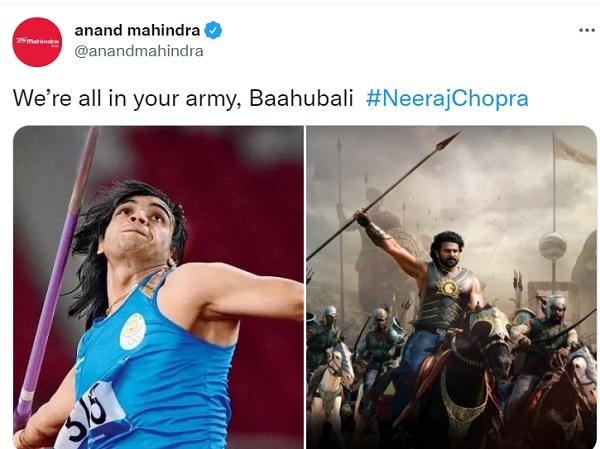 'बाहुबली, हम सब तुम्हारी सेना में शामिल है'