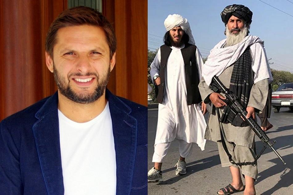 तालिबान के फैन हुए शाहिद अफरीदी, कहा- पॉजिटिव माइंडसेट के साथ आए हैं