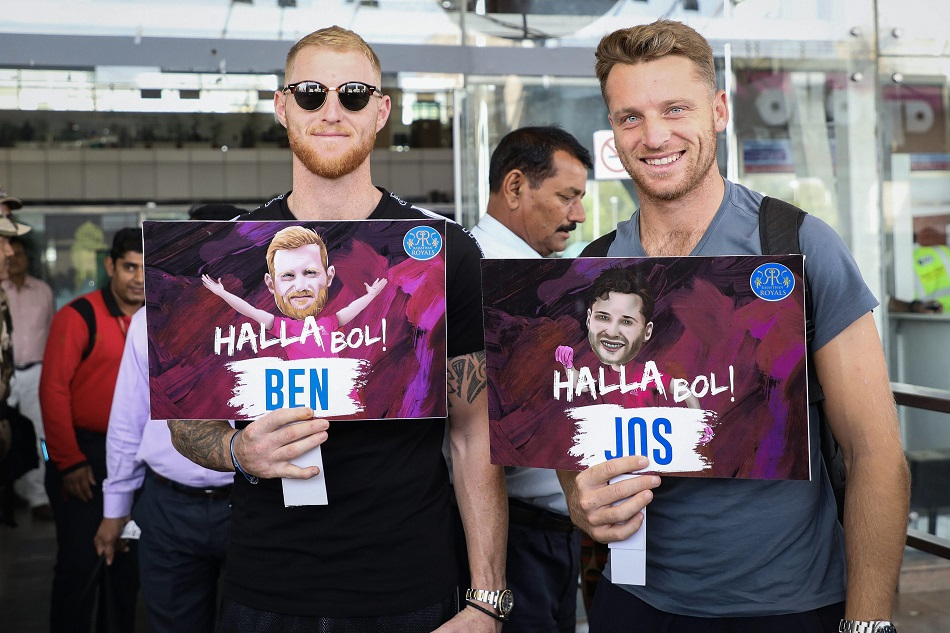 IPL 2021: Rajasthan Royals included 2 replacement for Jos Butler and Ben Stokes