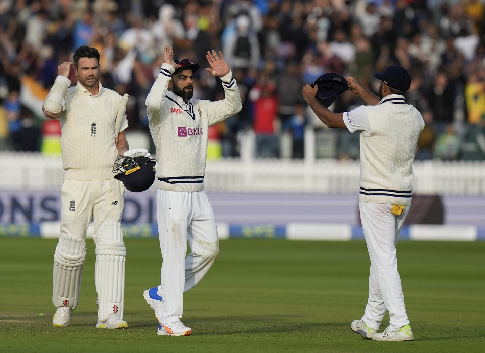 India in England 2021: James Anderson regards Virat Kohli as a special player