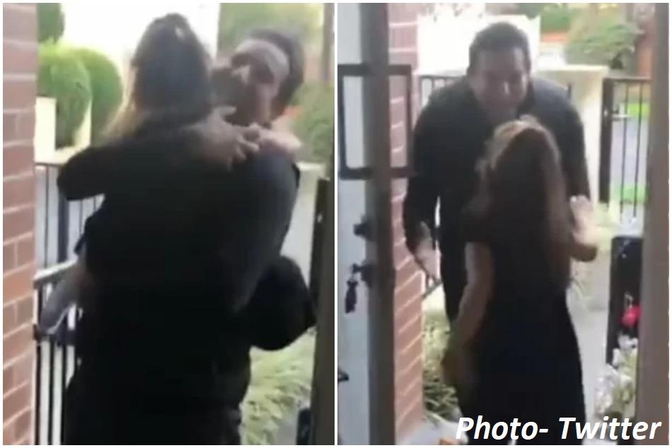 वसीम अकरम 10 महीने बाद ऑस्ट्रेलिया में अपनी बेटी से मिले, शेयर किया भावुक VIDEO