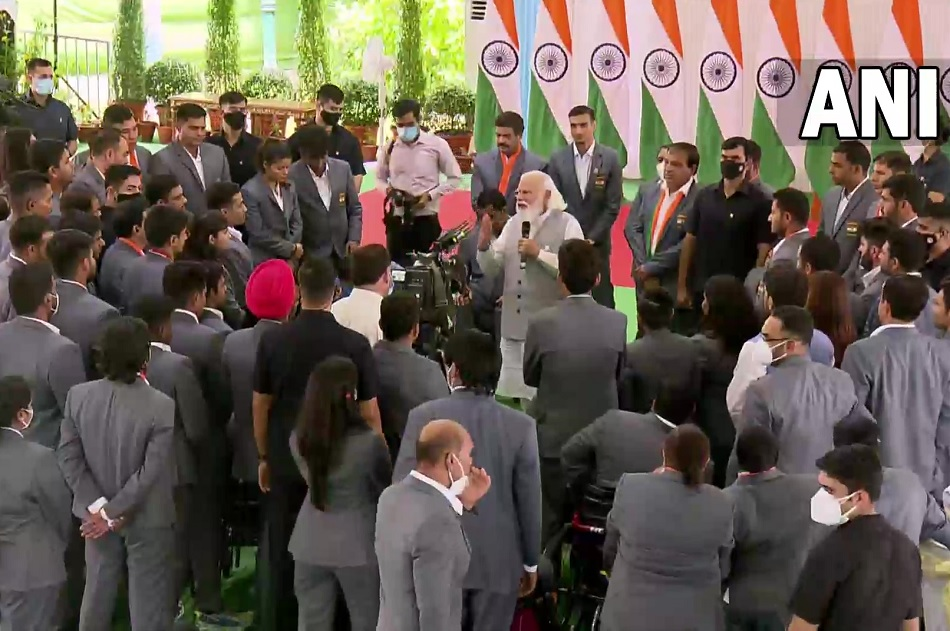 PM Narendra Modi shared the video footage of his interaction with the Tokyo 2020 para-athletes