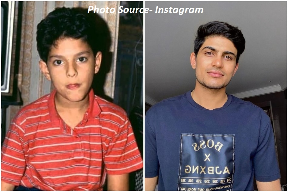Shubman Gill comment on Yuvraj Singhs childhood picture