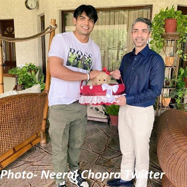 चोपड़ा परिवार का नया सदस्य 'टोक्यो'