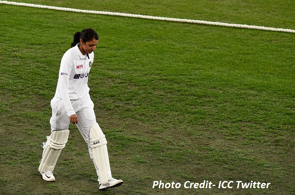 IND vs AUS, Day-Night Test: Smriti Mandhana completes day one with career-best test score