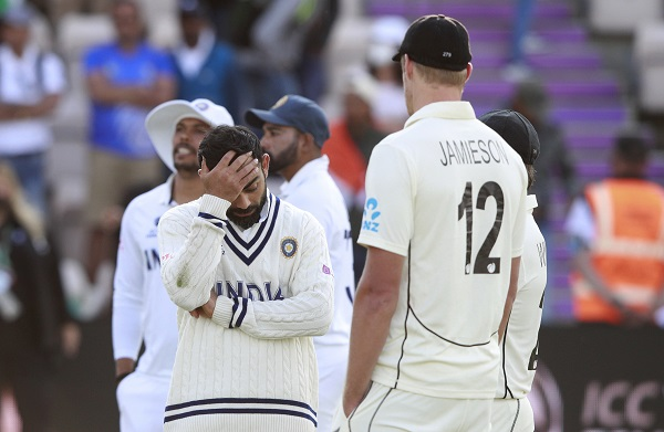 1. वर्ल्ड टेस्ट चैम्पियनशिप हारने से दबाव पड़ा-