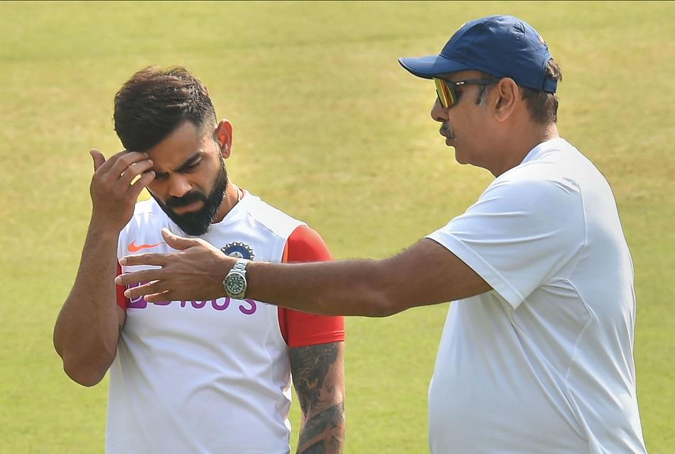 Ravi Shastri advised Virat Kohli to leave the captaincy in white ball format- Reports