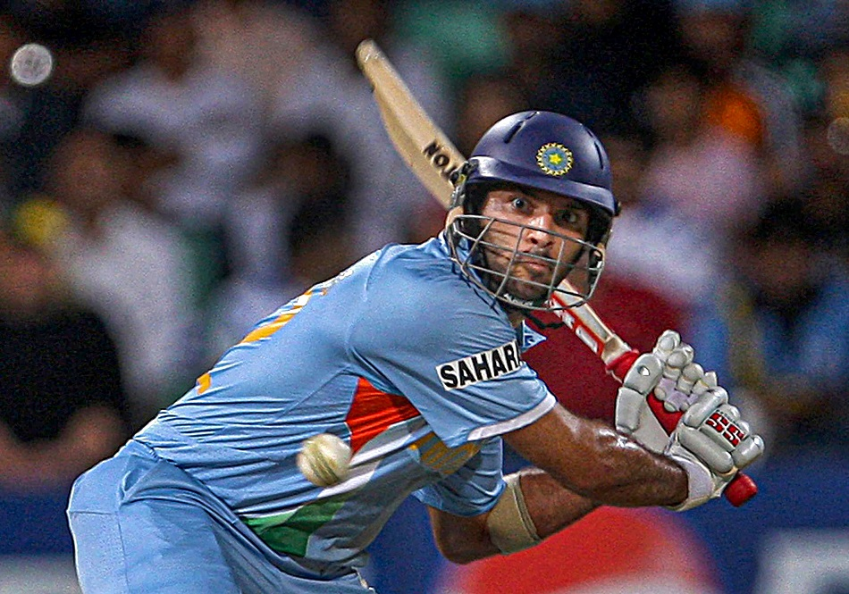 On This Day: Yuvraj singh anger with Freddy exploded on Stuart Broad, 6 sixes in 1 over