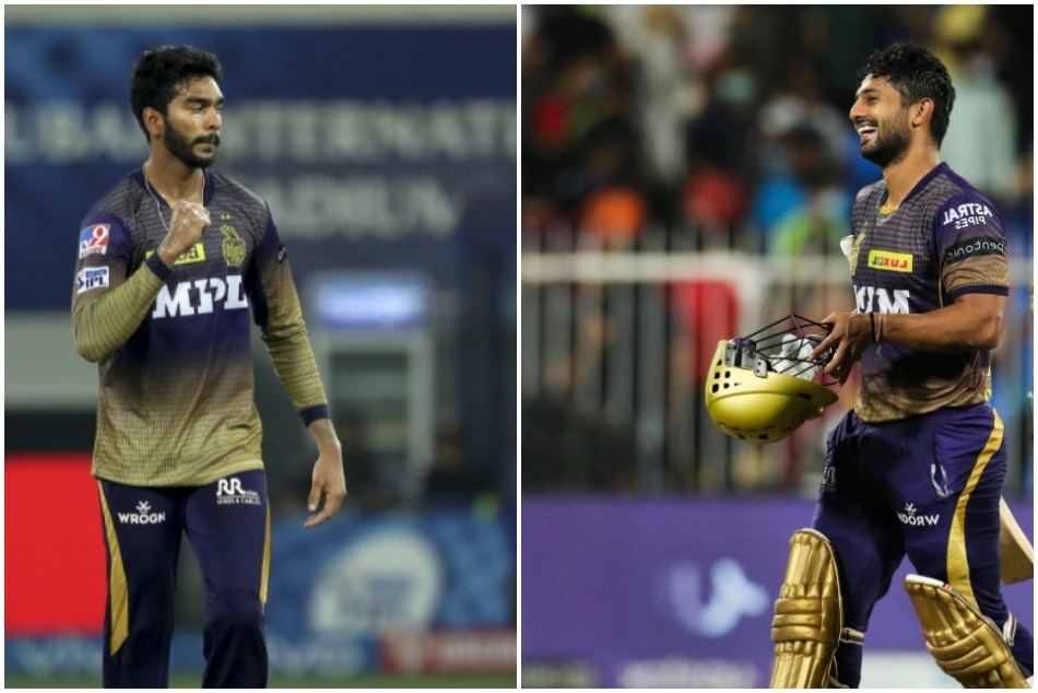 IPL 2021: Venkatesh Iyer hugged Rahul Tripathi wearing chappals, now reveals the reason behind it