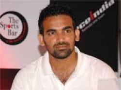 Zaheer Khan Of Third Test Against Kiwis