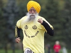 Sports Free Food On Fauja Singh Olympics Torch Route