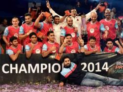 Jaipur Pink Panthers Won Pro Kabaddi League Championship