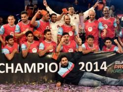 Abhishek Bachchan Owned Jaipur Pink Panthers Win Pro Kabaddi Title