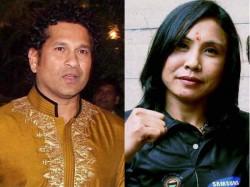 Sachin Tendulkar Backs Sarita Devi Writes Sports Ministry